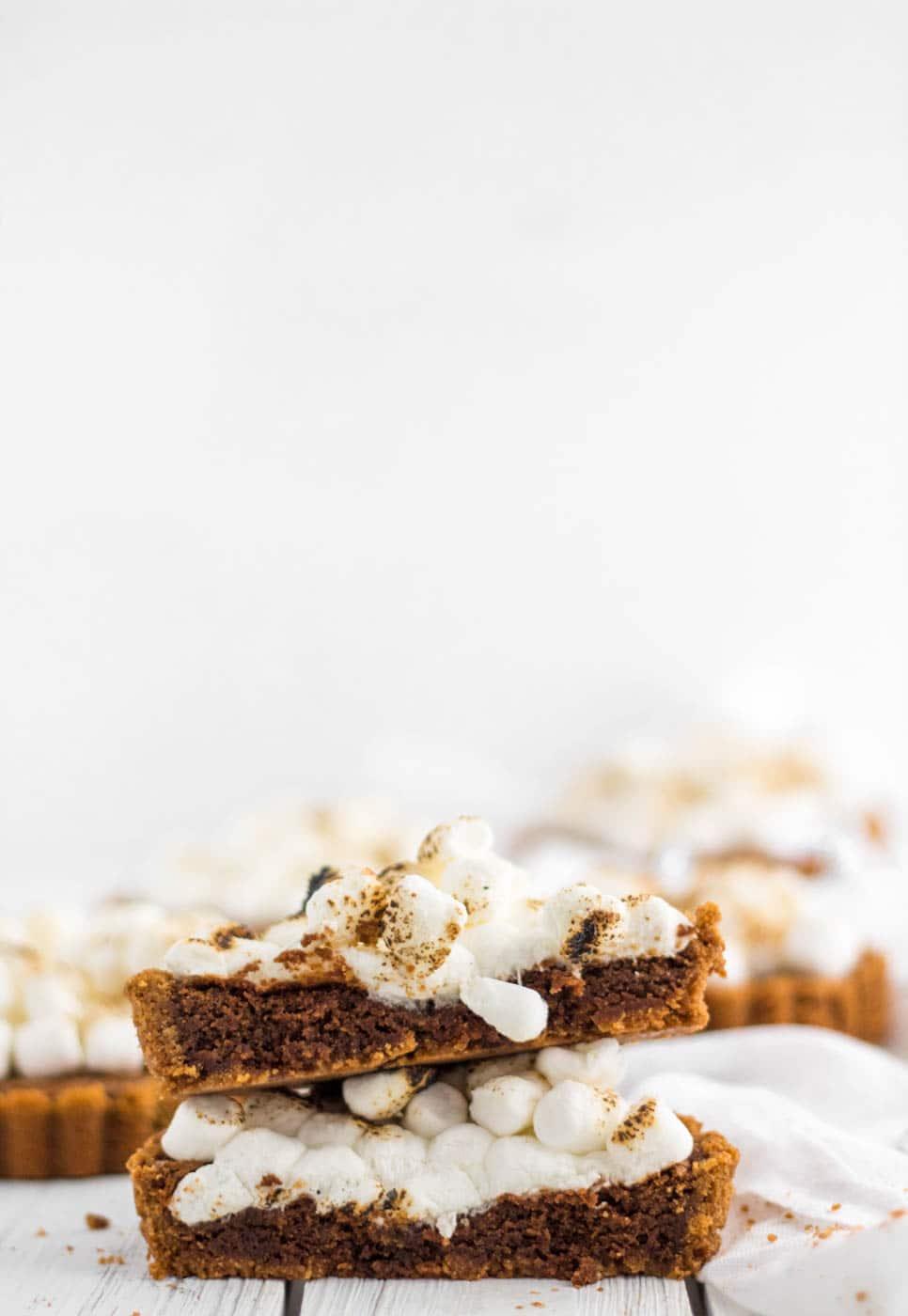 Hershey Brownie S'mores Pie