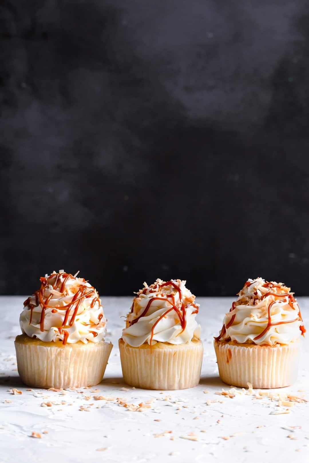 Coconut Dulche De Leche Cupcakes