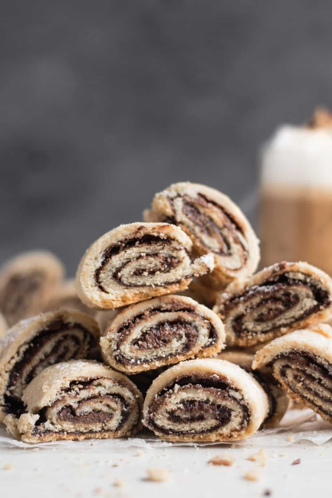Chocolate Rolled Cookies