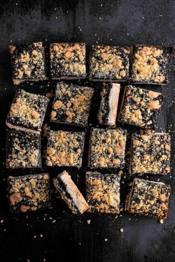 Poppy seeds bars