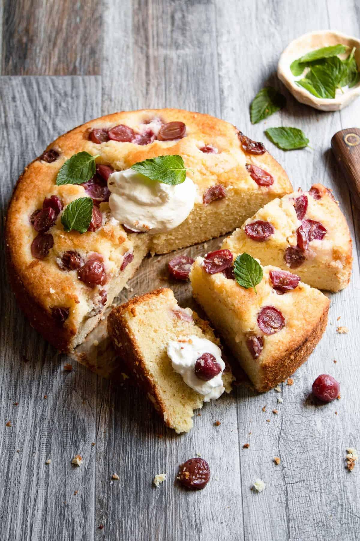 Vineyard Afternoon cake