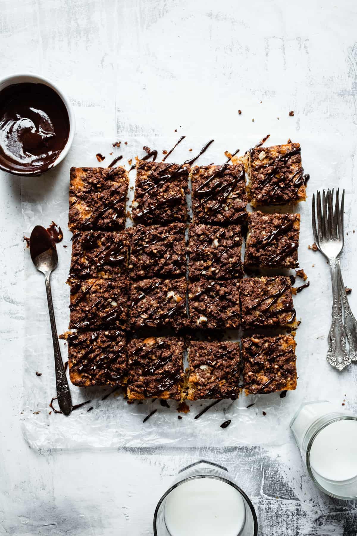Pumpkin Cookie Streusels Cake