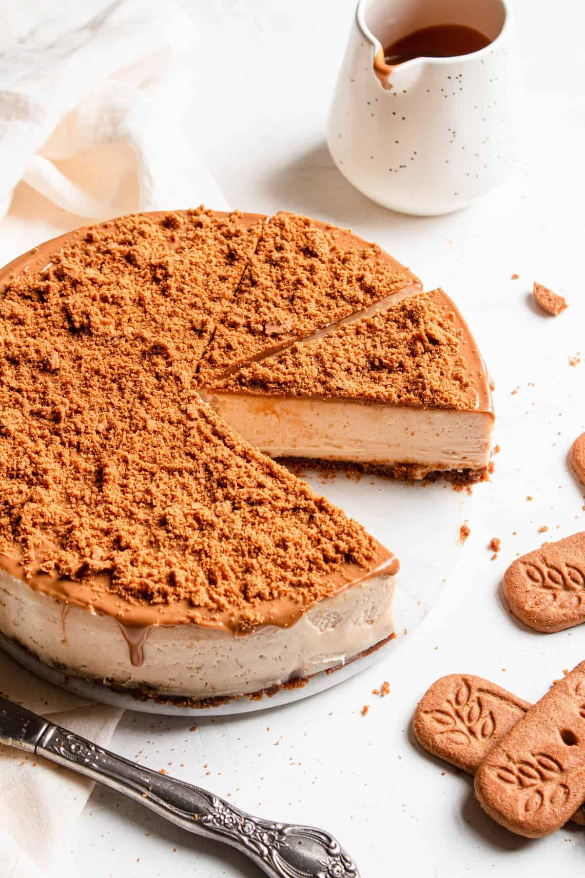 Cookie butter cheesecake recipe