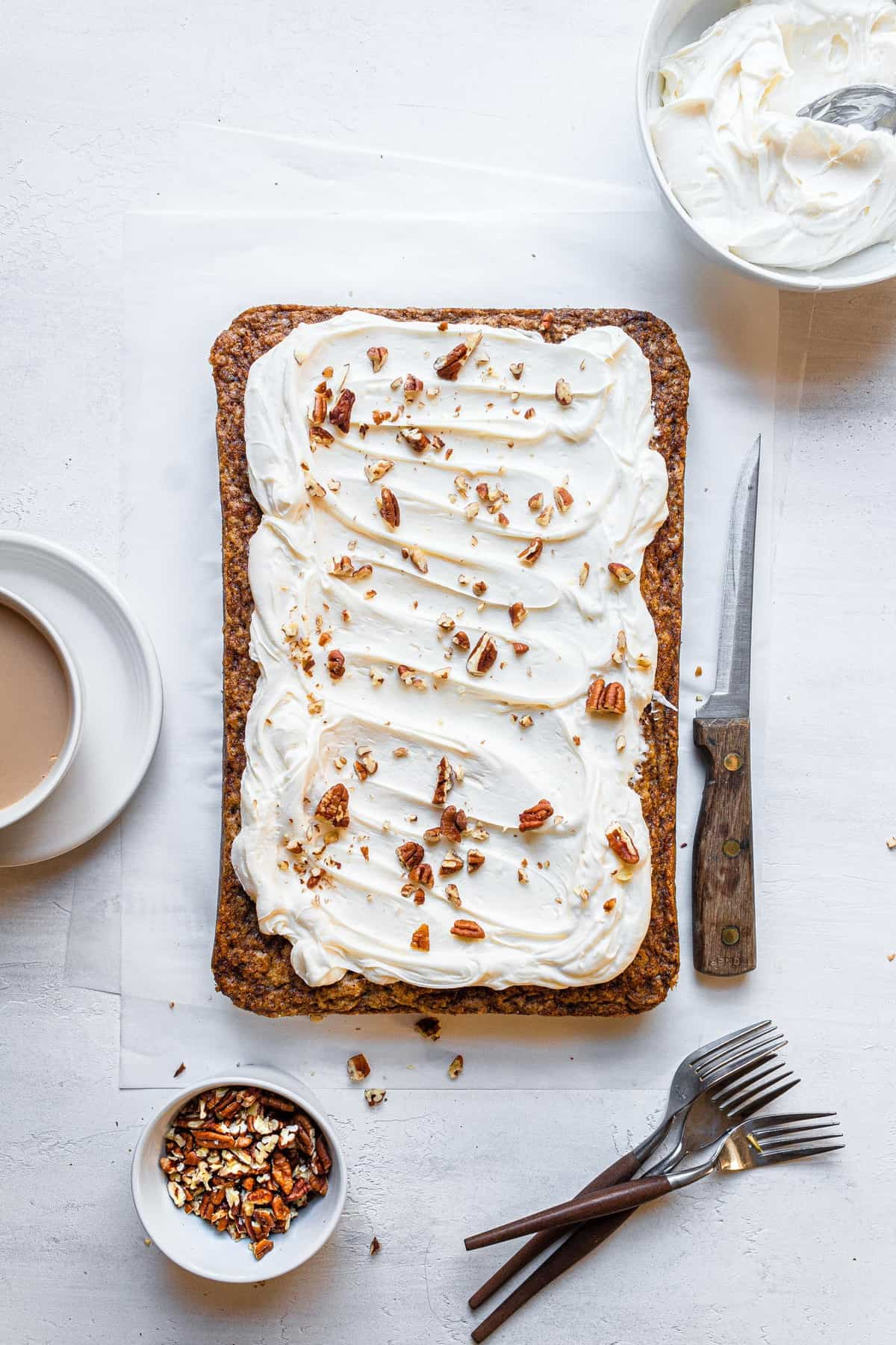 carrot sheet cake recipe with cream cheese frosting