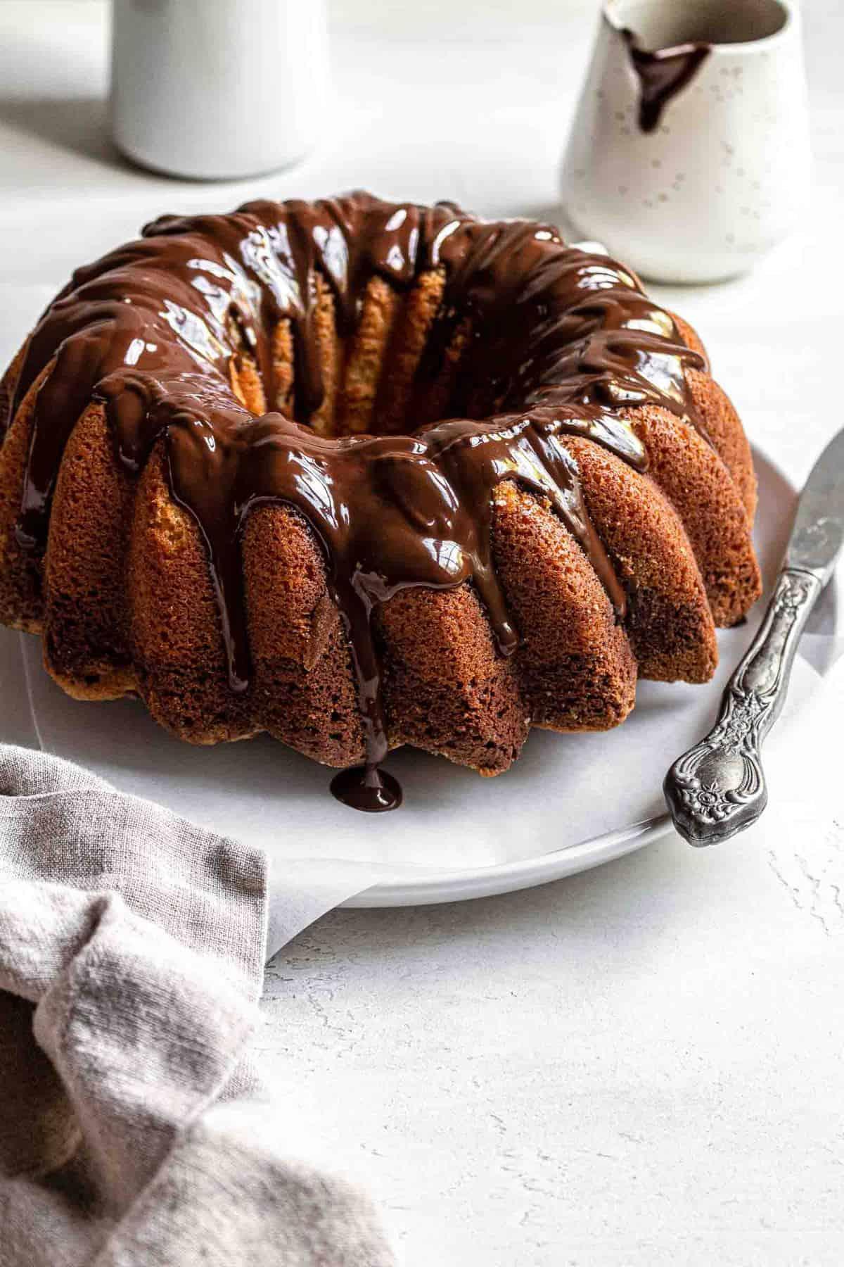black and white marble cake recipe