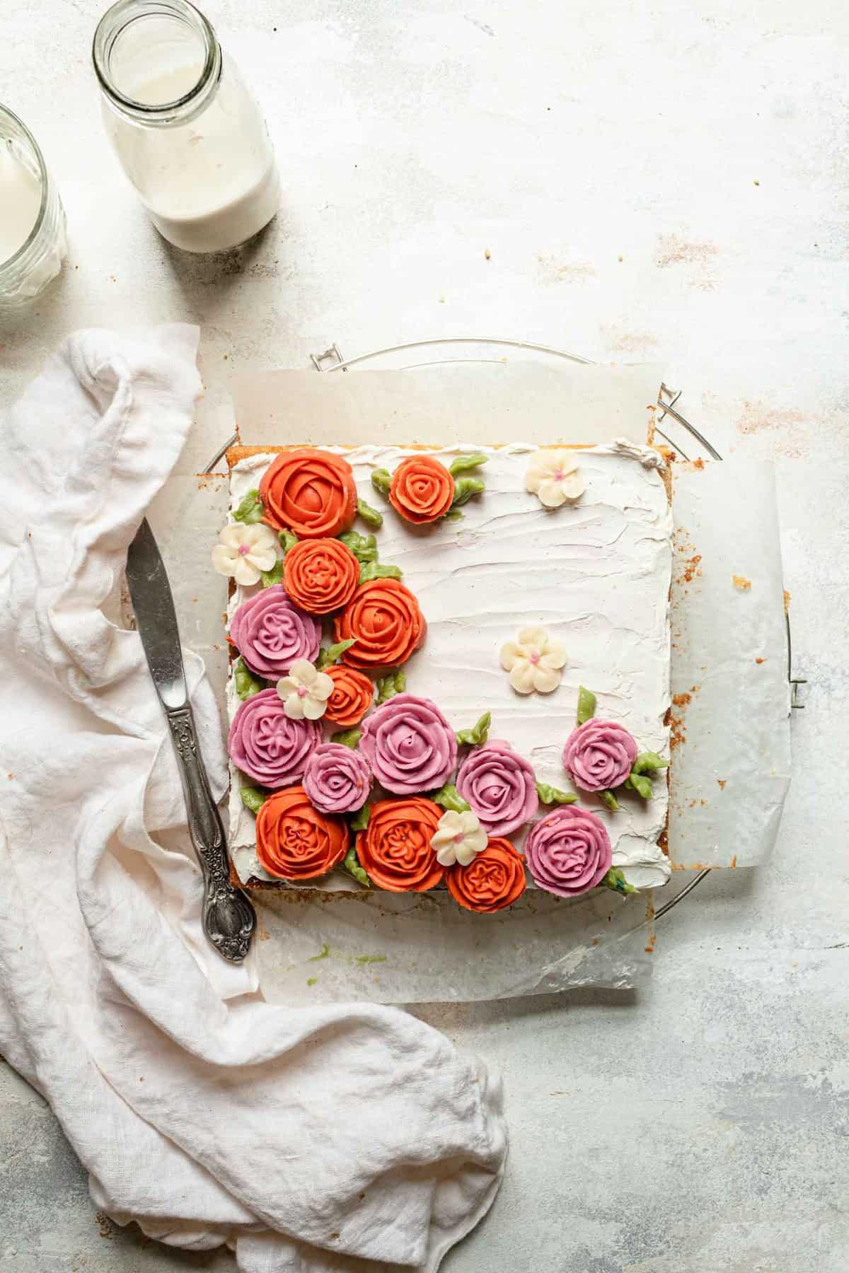 gluten-free vanilla bean cake recipe