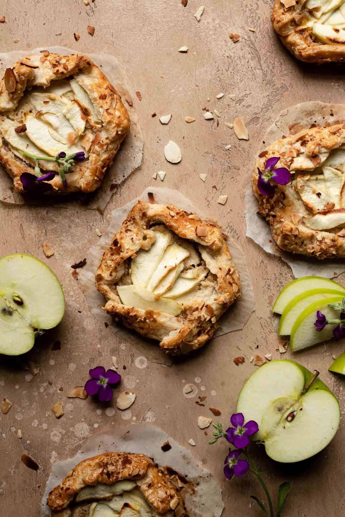 Mini Apple Galettes recipe
