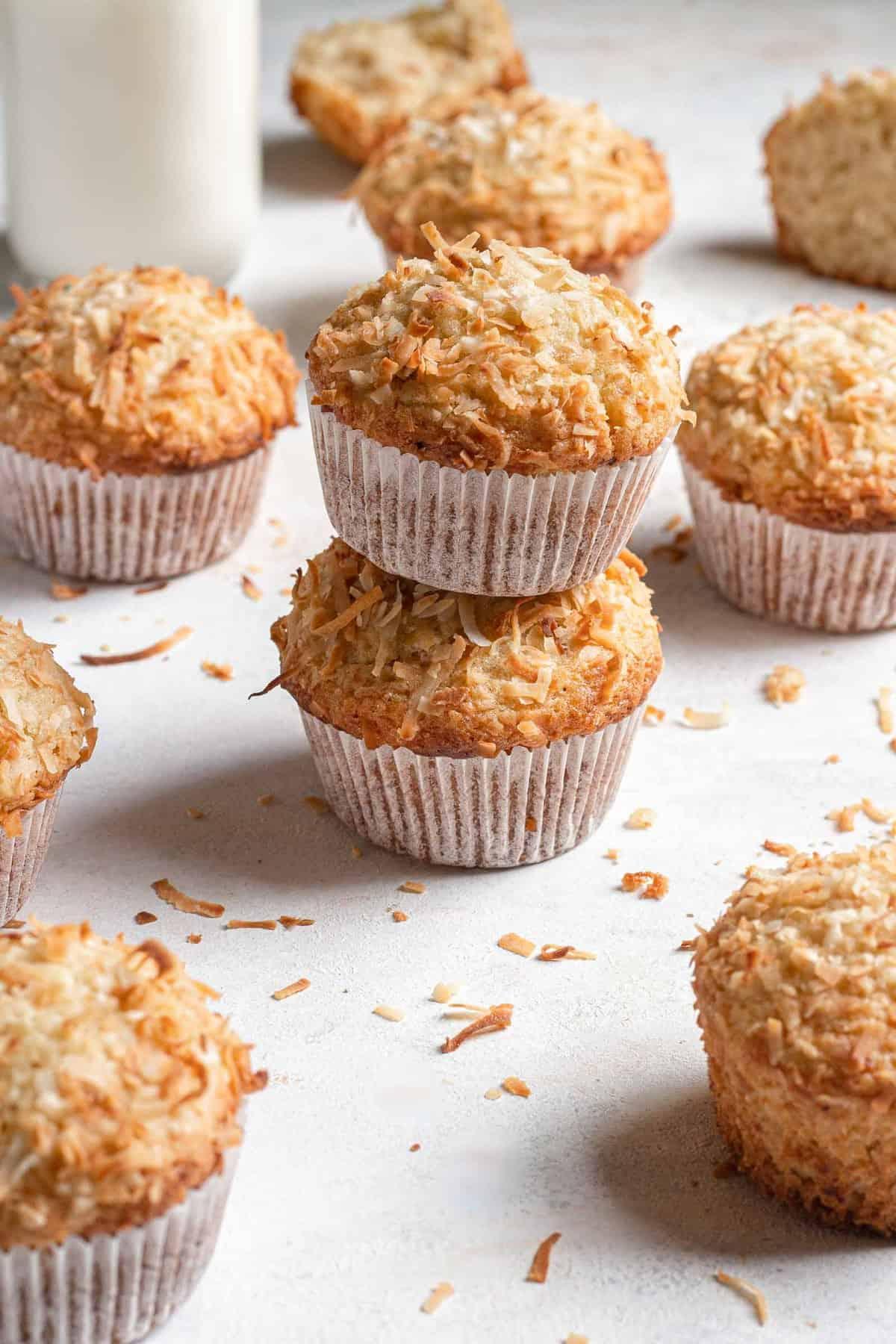Toasted Coconut Banana Muffins recipe