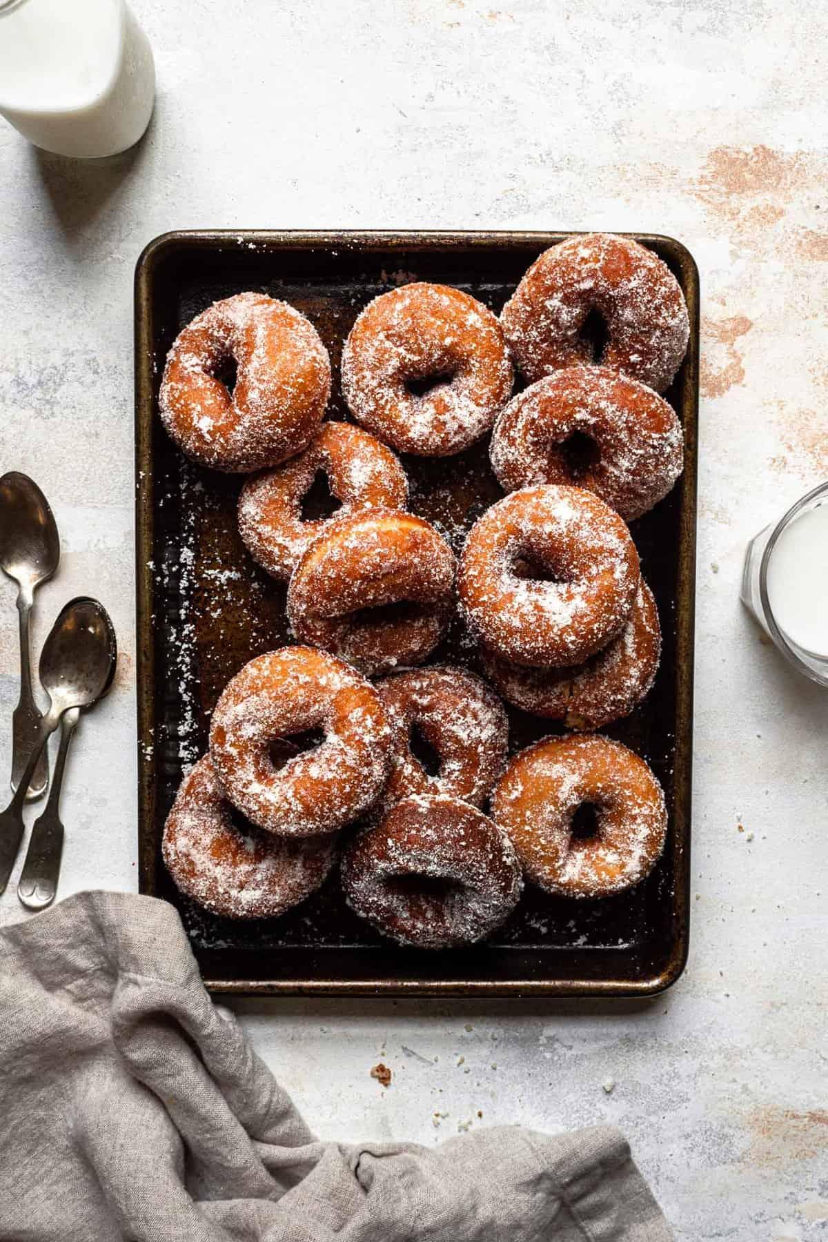 Old fashioned potato donuts recipe