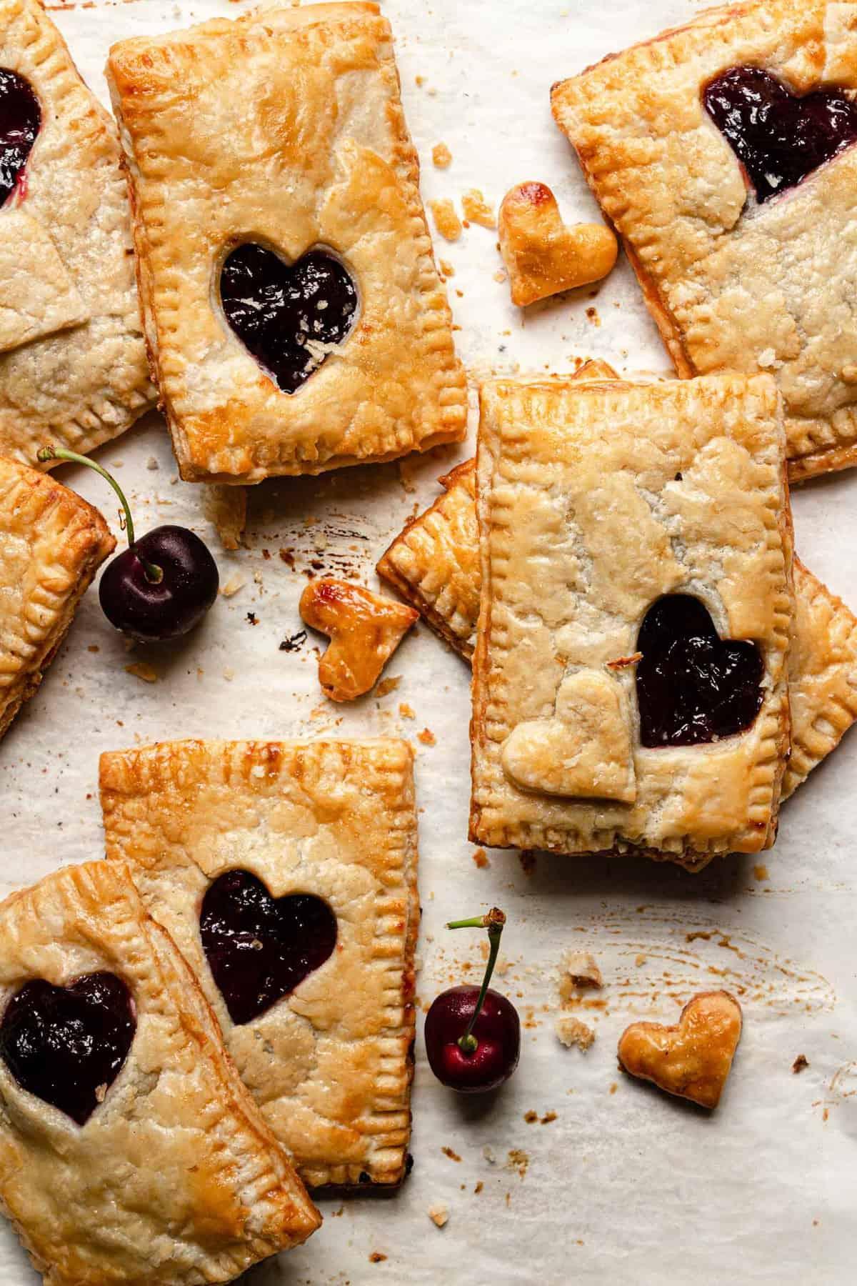 Cherry cream cheese hand pies recipe