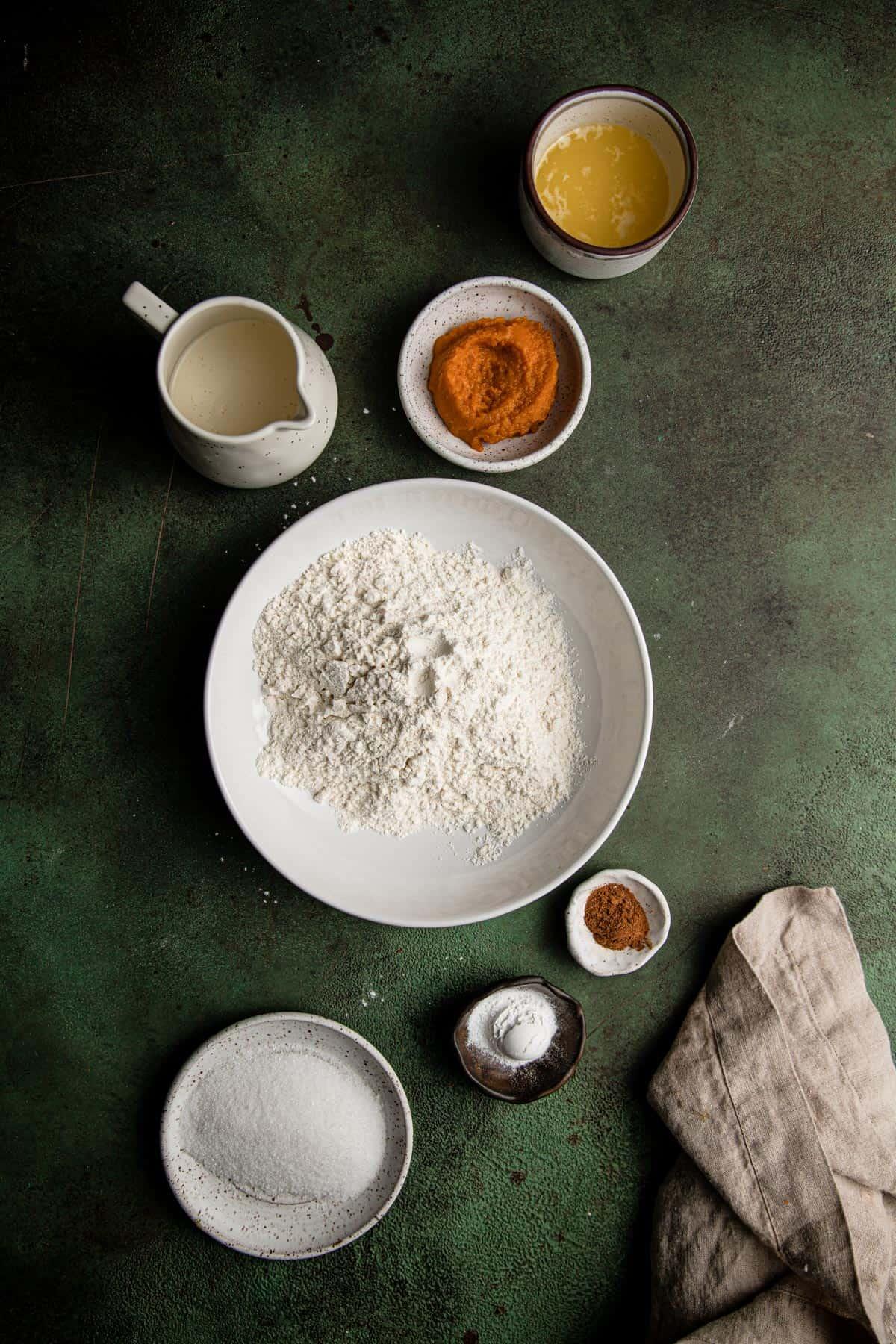 Fast and easy pumpkin scones recipe