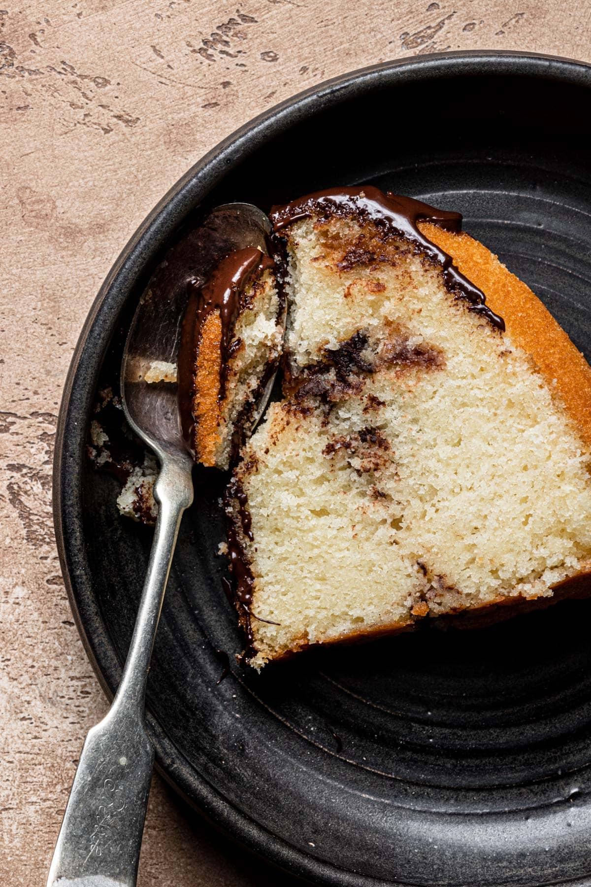 Snickers Bundt Cake