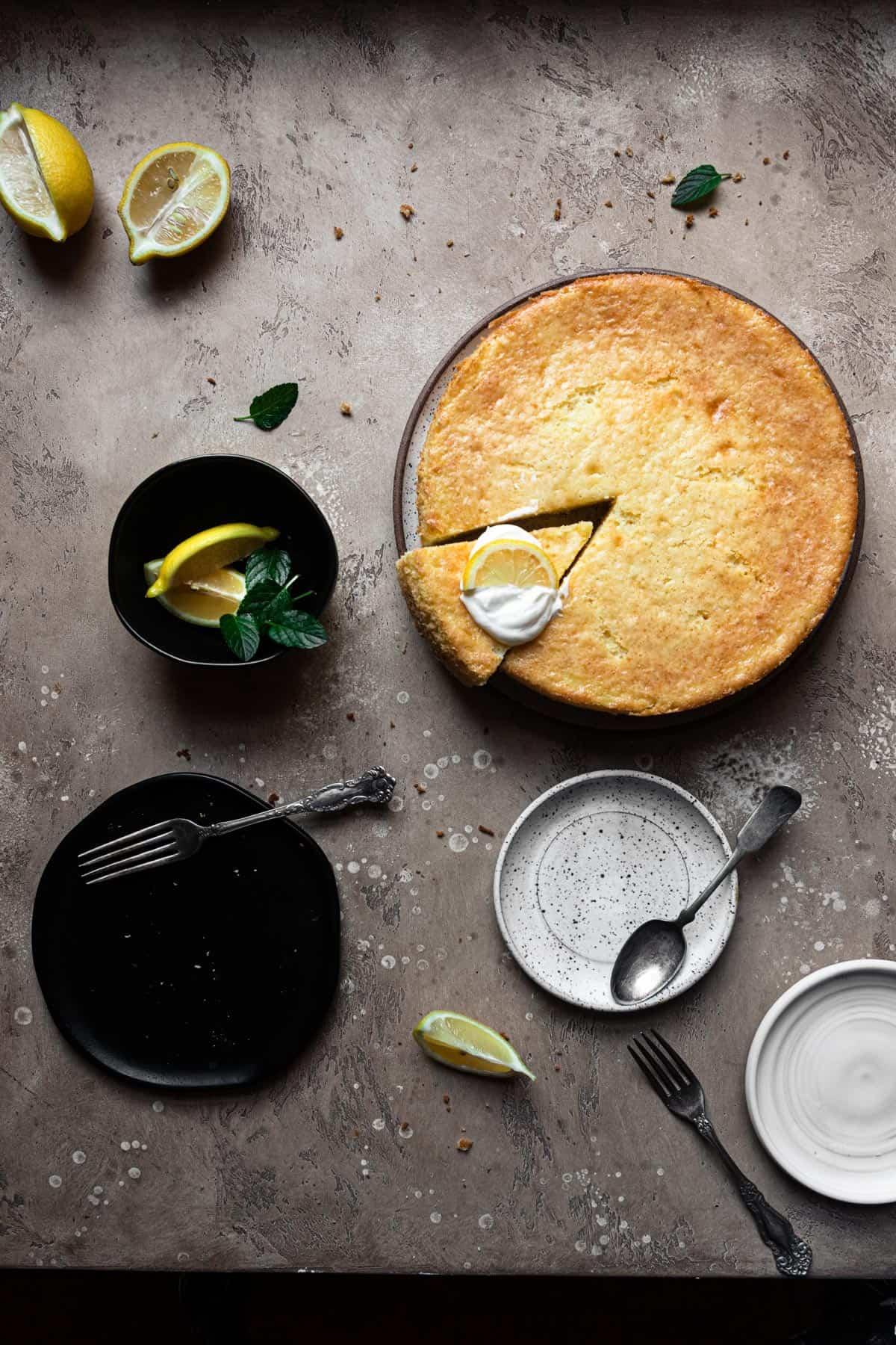 sponge cheesecake cake