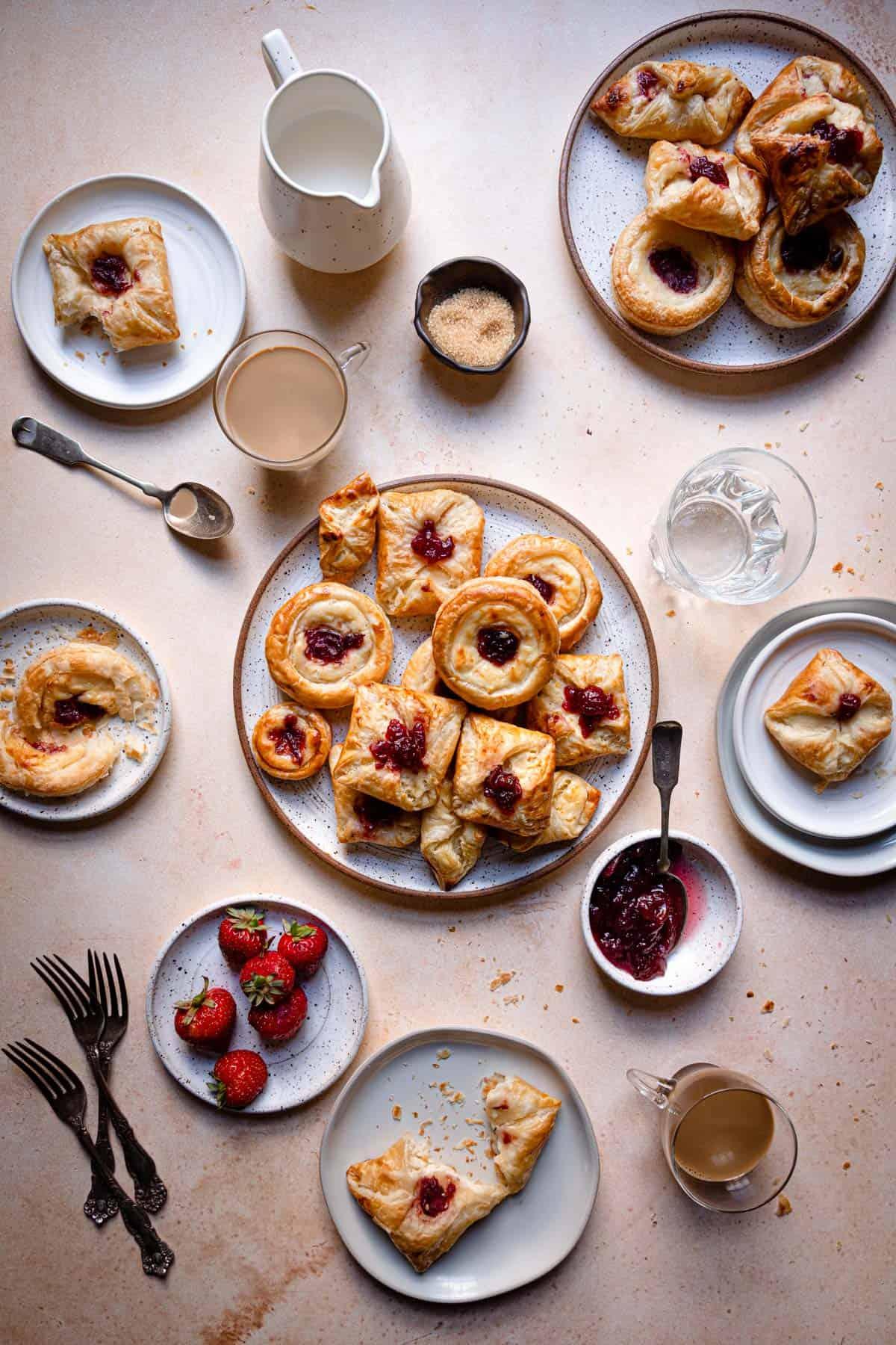 Cream Cheese Breakfast Pastries