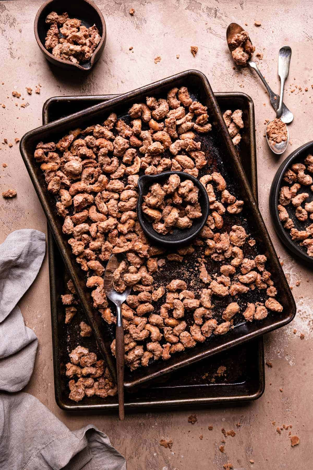 Candied Cashews recipe