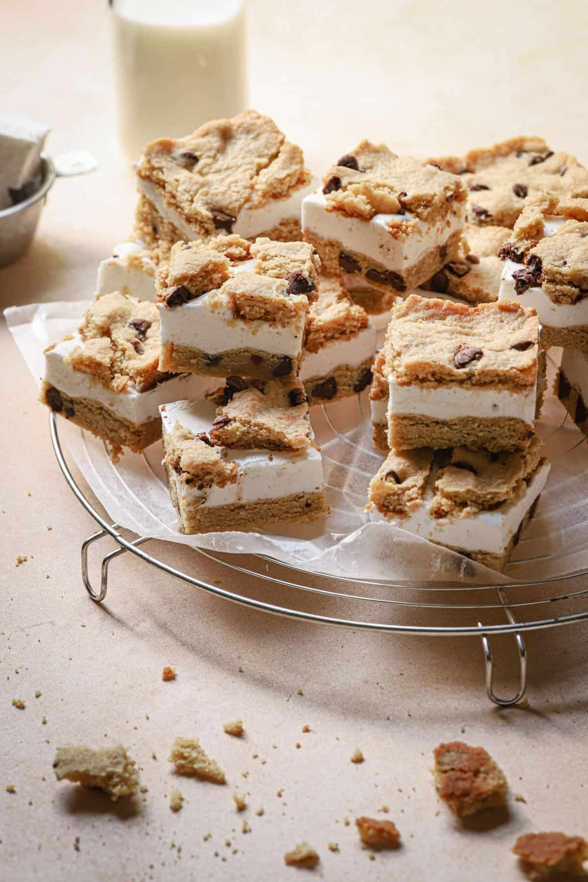 smookie are s'mores chocolate chip cookies bars